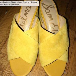 227f3a18249397 Sam Edelman Shoes - Sam Edelman Stanley Block Heel Mike Sandal